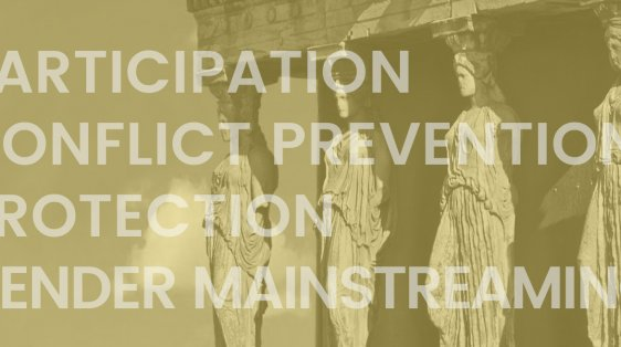 The four pillars of Women, Peace and Security are participation, conflict prevention, protection, and gender mainstreaming