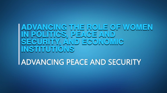 Young African Leadership Department of State Gender Equality Politics Participation Economics Peace Security