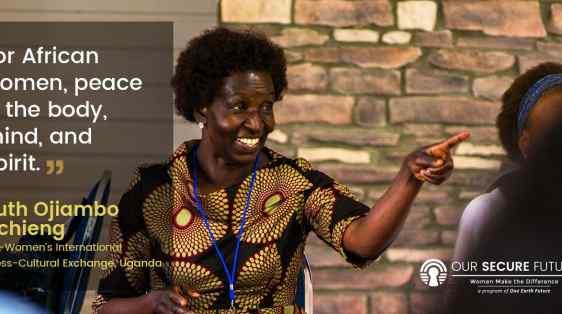 Ruth Ojiambo Ochieng quote African women