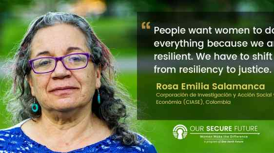Rosa Salamanca quote women and justice
