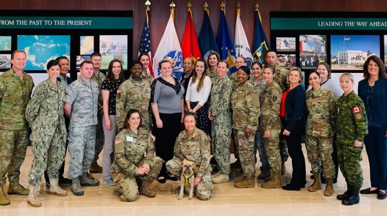 OSF Fellow Sarah Williamson at SOUTHCOM