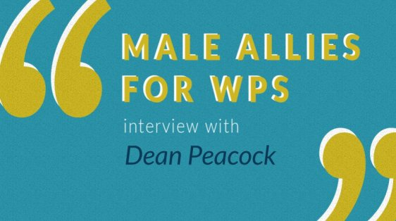 Male Allies for Women, Peace and Security Gender Equality