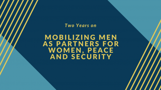 Male Allies for Women, Peace and Security, Gender Equality