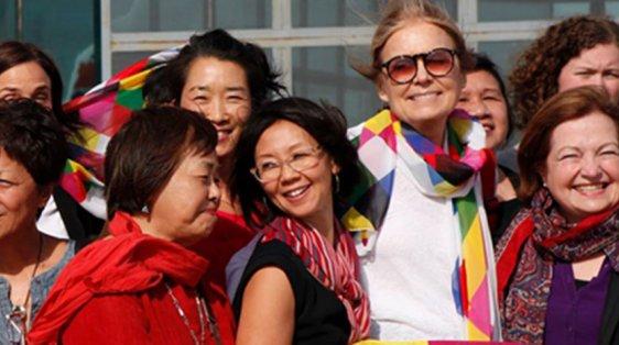 Women peace builders in Pyongyang, DMZ