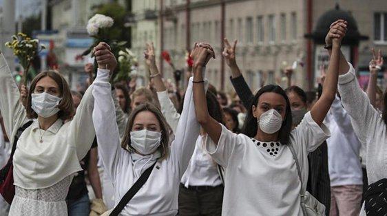 belarus protests women 2020