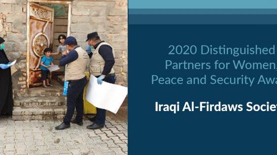 Iraqi Al-Firdaws Society PPE COVID