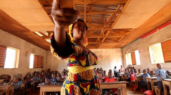 Women education right Cameroon