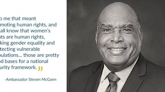 Ambassador Steve McGann women's rights