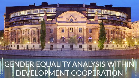gender equality development cooperation Sweden feminist foreign policy