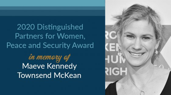 Maeve Kennedy Distinguished Women Award