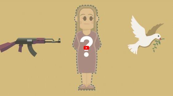 NATO women peace security video still