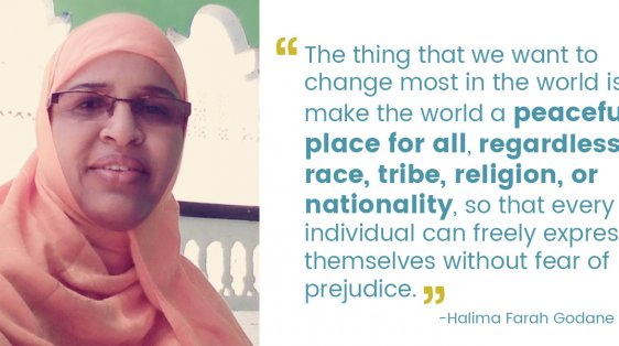 halima Farah Godane and quote