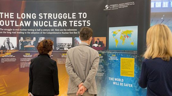 long struggle to outlaw nuclear tests CTBTO