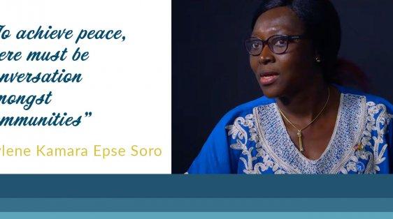 raising womens voices peace ivory coast