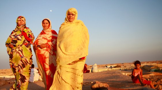 women refugee camps