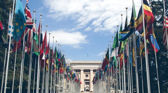 flags of nations outside United Nations