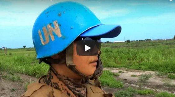 still from women peacekeepers video