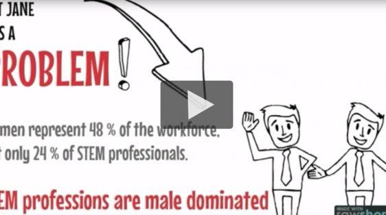 women in STEM  still low