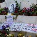 memorial to murdered journalist Daphne Caruana Galizia