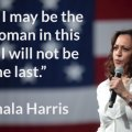 Kamala Harris first VP-elect female
