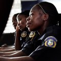 Liberian police force includes women