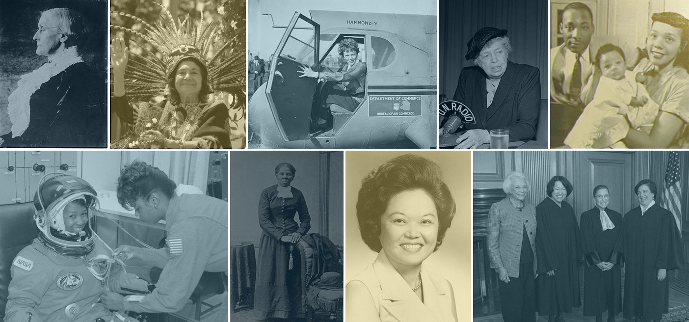 Accomplished American women scientists engineers justices activists