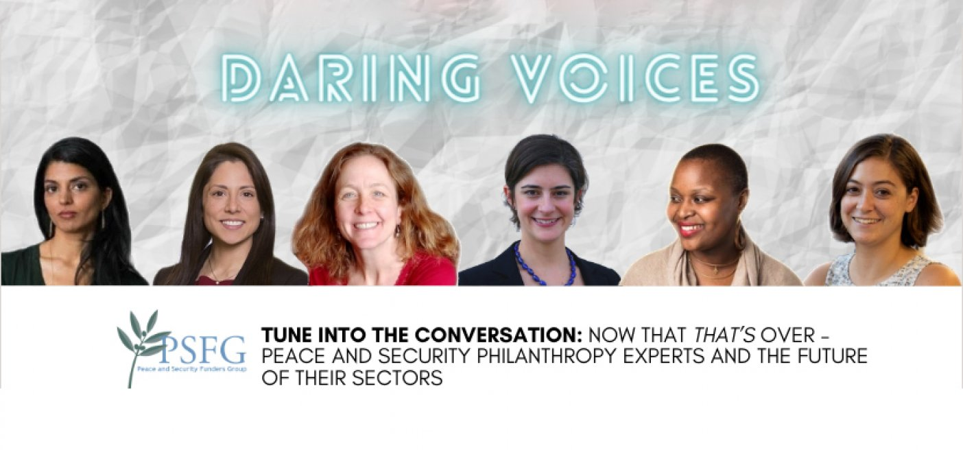 Daring voices podcast wps election US