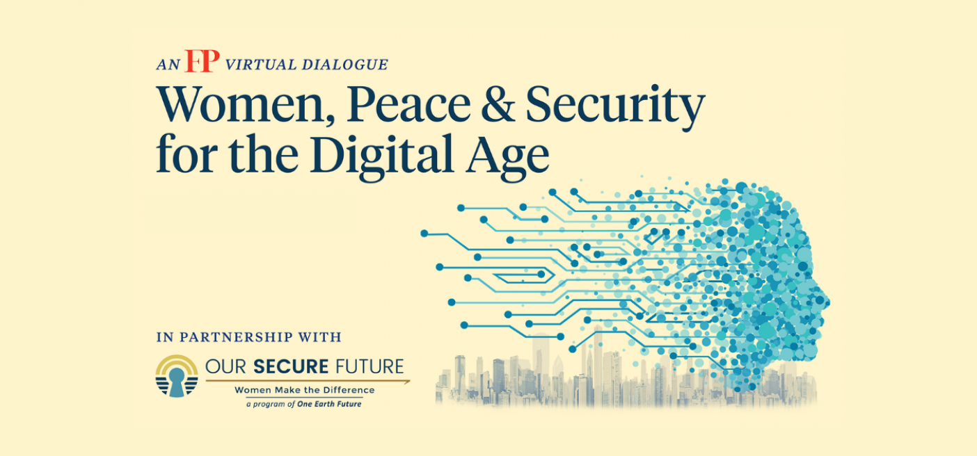 Digital Ecosystem, Women, Peace and Security, Technology, Network, Diversity, Equality, Gender, national security