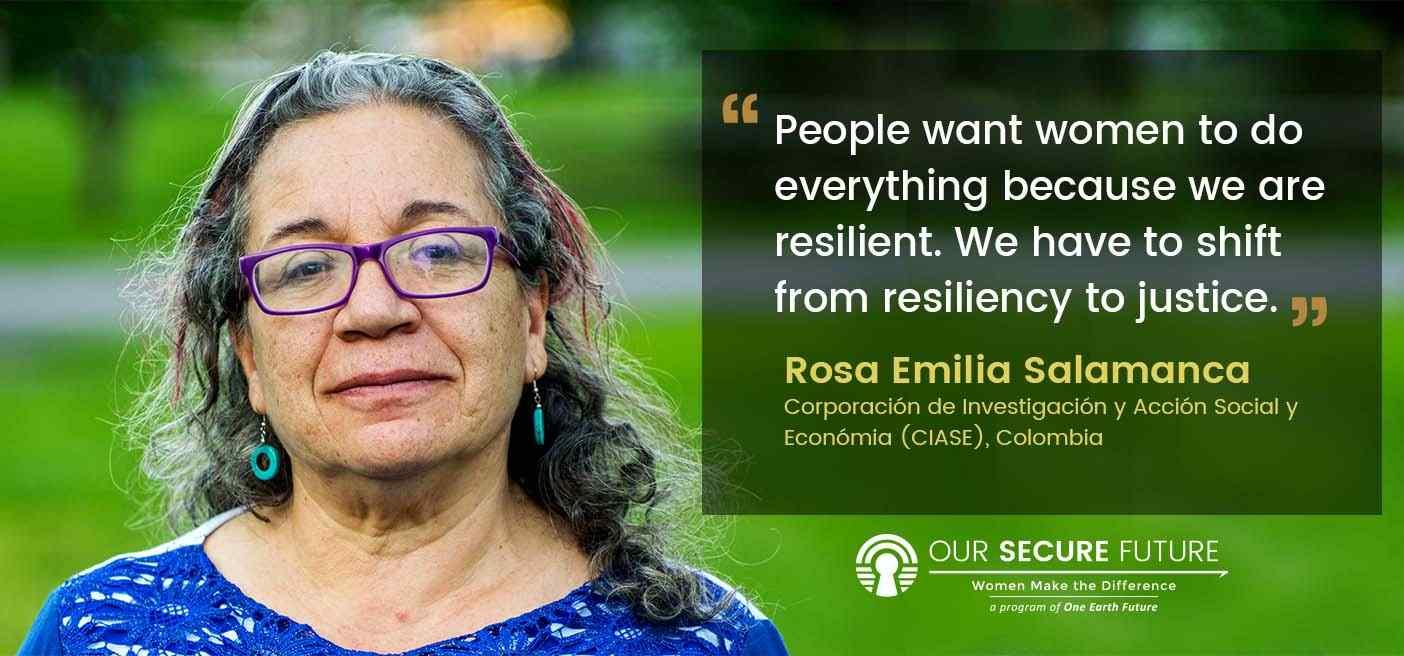 Rosa Salamanca quote women and justice