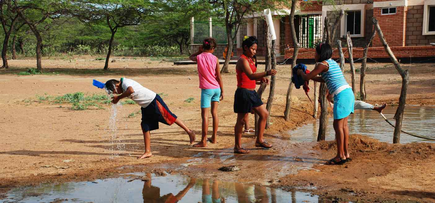 indigenous colombian's water shortage