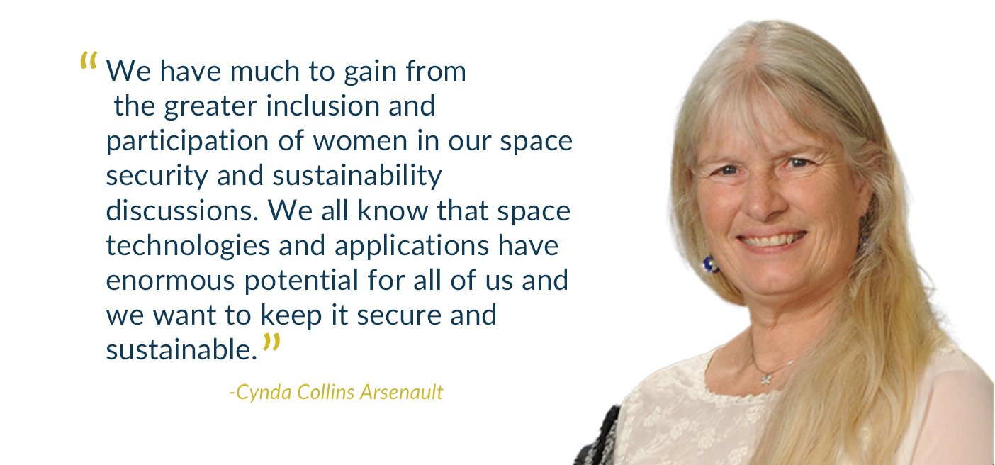 cynda collins arsenault gender mainstreaming space security