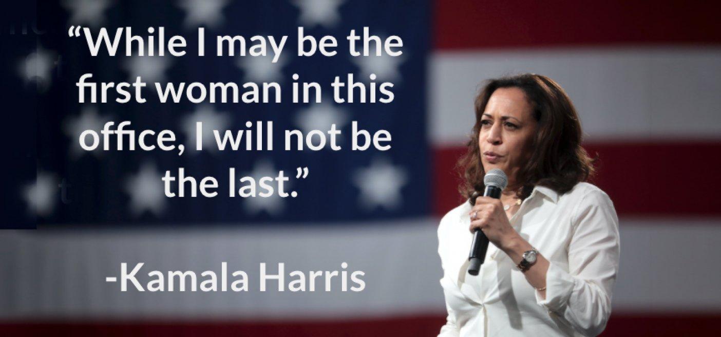 Kamala Harris first VP-elect female
