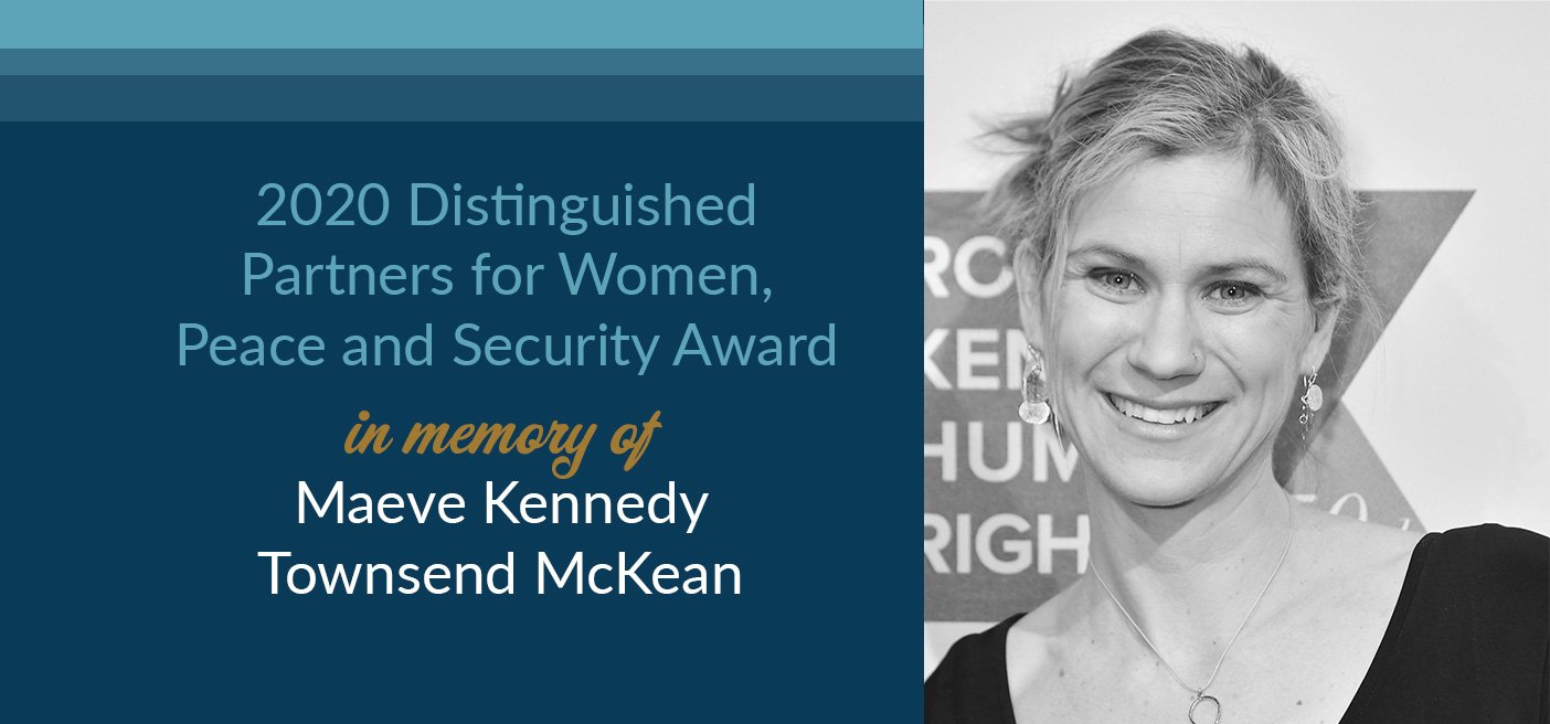 Maeve Kennedy Distinguished Women Award