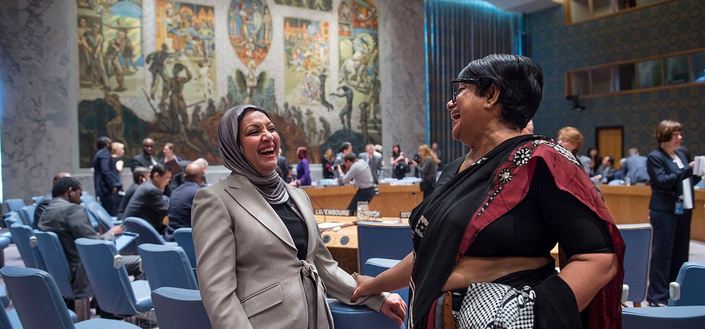 members of the NGO working group on women, peace and security