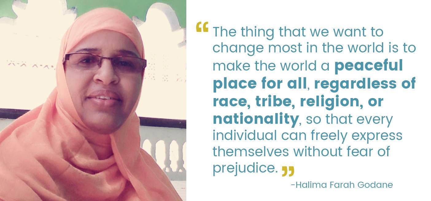 halima Farah Godane and quote