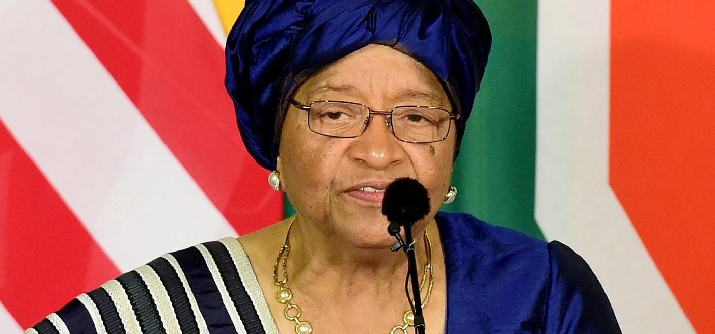 President Ellen Johnson Sirleaf of Liberia