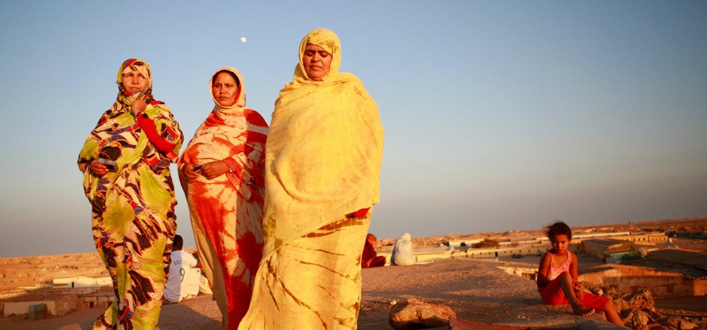 women refugee camps