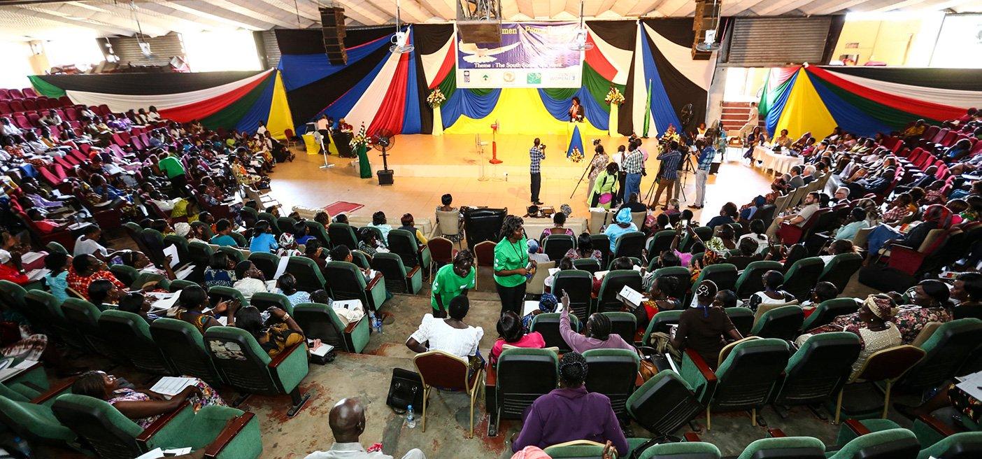 South Sudan Women's participation