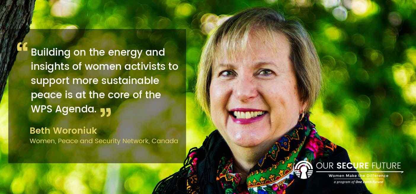 Beth Woronuiuk quote designing our secure future