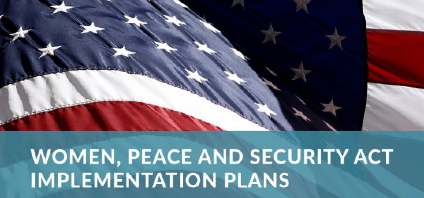 Women Peace and Security Plan