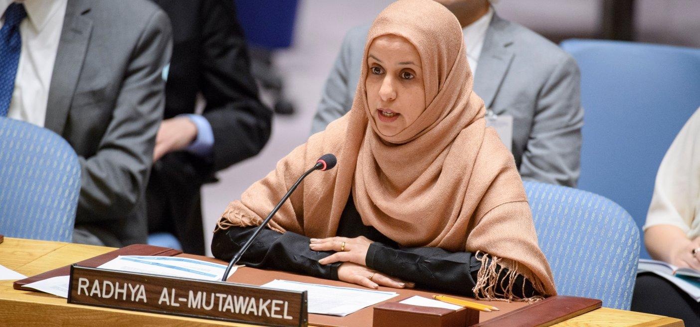 Risultati immagini per Radhya Al Mutawakel, IMMAGINE?