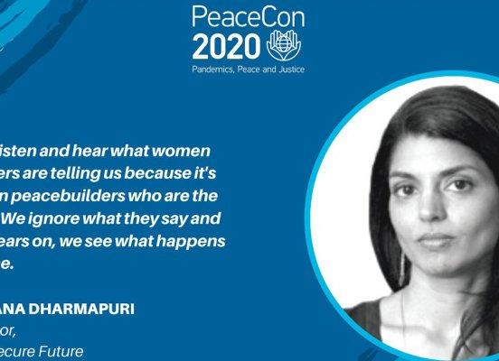 Sahana Dharmpuri PeaceCon 2020