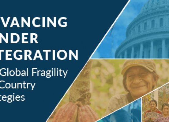 Gender Guide Global Fragility Act
