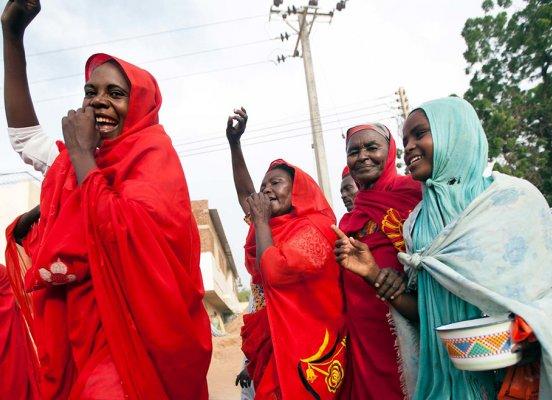 women peace Sudan
