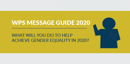 what will you do gender equality 2020?